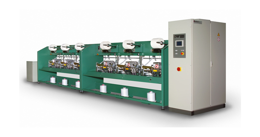 Dref spinning machines