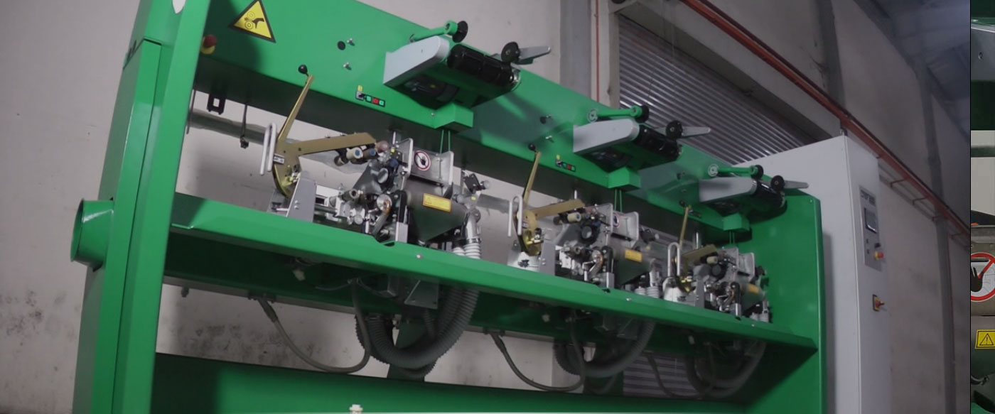 DREF 3000 friction spinning machine